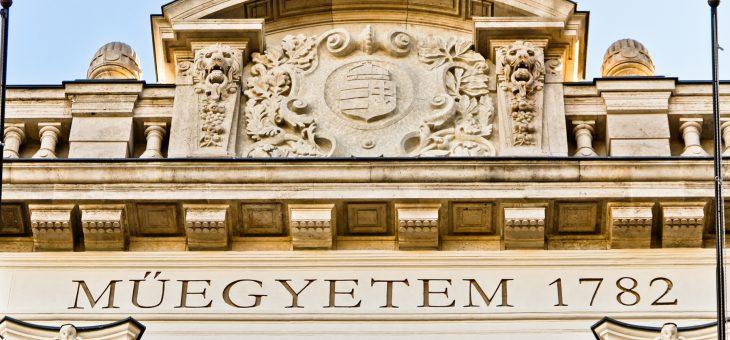 Budapesti Műszaki Egyetem CH épület homlokzatfelújítás