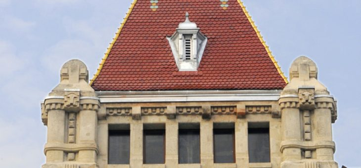 Budapesti Műszaki Egyetem K épület tetőfelújítás